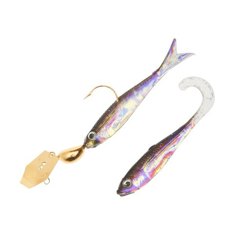 Image for Z-Man® ChatterBait® FlashBack® Mini 3/16 oz Bladed Jig from Academy