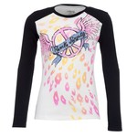 BCG™ Girls' Long Sleeve Crew Neck Graphic Top