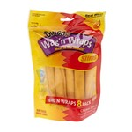Dingo Wag'n Wrap Slim Dog Chews 8-Pack