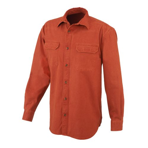 Magellan Outdoors™ Men's Woodlake Pigment Dyed Long Sleeve Shirt