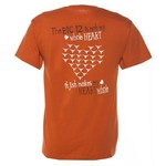 New World Graphics Adults' University of Texas Whole Heart T-shirt