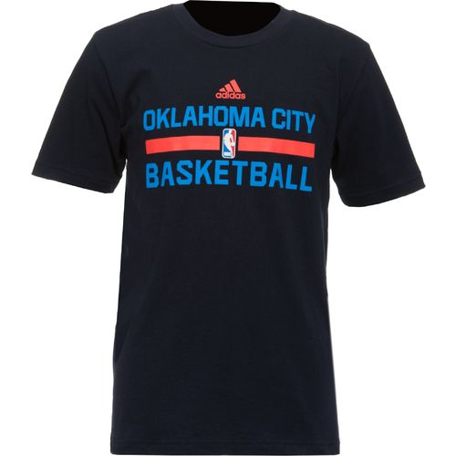 adidas™ Boys' Oklahoma City Thunder Practice Wear T-shirt