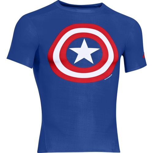 Under Armour Men's Captain America Alter Ego Compression Shirt