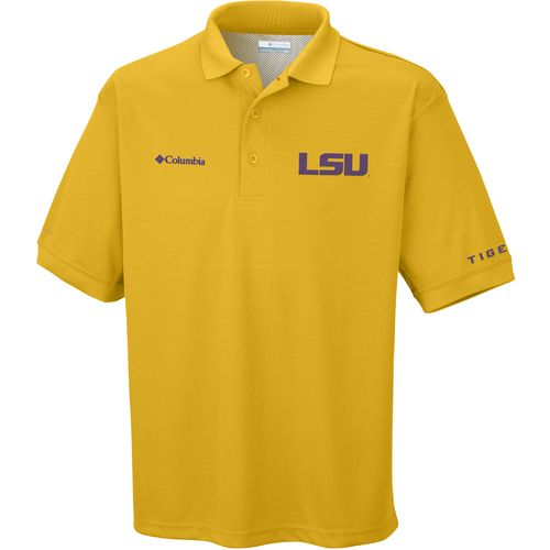 Display product reviews for Columbia Sportswear Men's Collegiate Perfect Cast Louisiana State University Polo Shirt