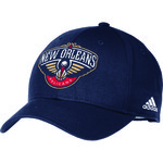 adidas™ Adults' New Orleans Pelicans Structured Adjustable Cap