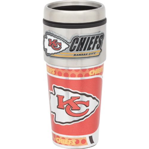 NFL Kansas City Chiefs 16 oz. Travel Tumbler