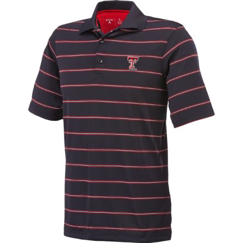 Antigua Men's Texas Tech University Deluxe Polo Shirt