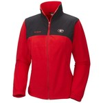 Columbia Sportswear Women's University of Georgia Fast Tech™ Overlay Full Zip Fleece Jacket