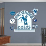 Fathead Baltimore Colts Classic Logo and Team Decals 7-Pack