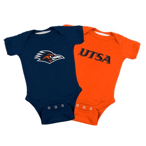 Atlanta Hosiery Company Toddlers' University of Texas at San Antonio Lap Shoulder Creepers 2-Pac