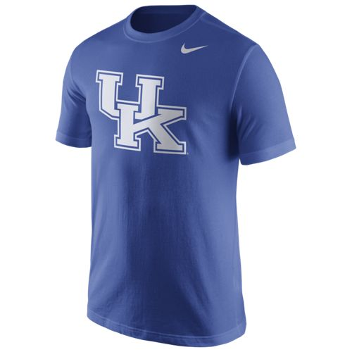 Nike™ Men's University of Kentucky Cotton Logo Short Sleeve T-shirt - view number 1