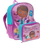 Disney Doc McStuffins Backpack with Lunch Combo