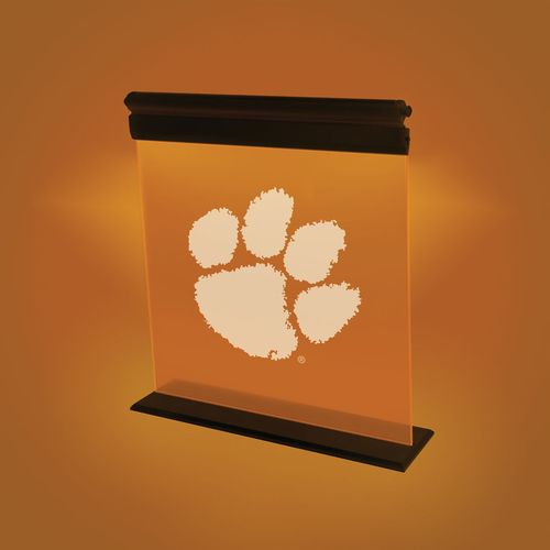 AES Optics Clemson University Acrylic LED Light