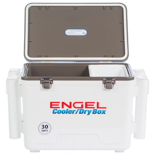 Engel 30 qt Cooler/Dry Box with Rod Holders - view number 3