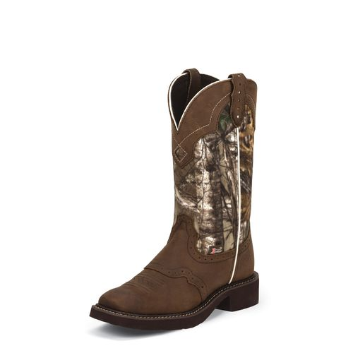 Display product reviews for Justin Women's Aged Bark Gypsy Western Boots
