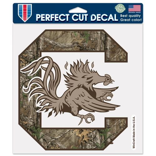 WinCraft University of South Carolina Perfect Cut Camo Decal