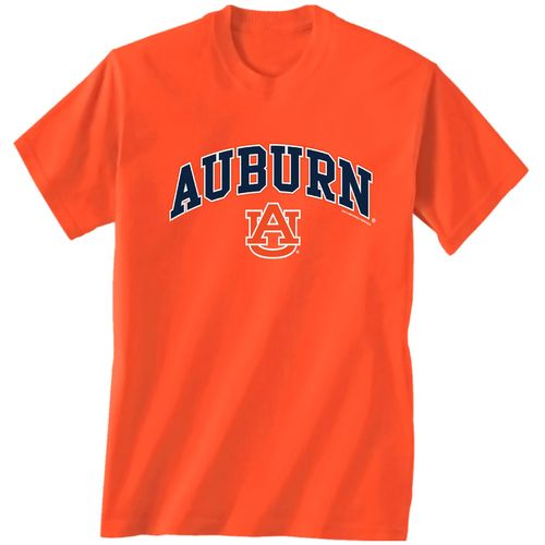 Display product reviews for New World Graphics Men's Auburn University Arch Mascot T-shirt