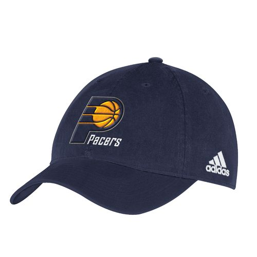 adidas™ Men's Indiana Pacers Slouch Adjustable Cap
