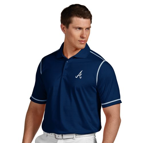 Antigua Men's Atlanta Braves Icon Polo Shirt - view number 1