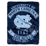 The Northwest Company University of North Carolina Rebel Raschel Throw - view number 1
