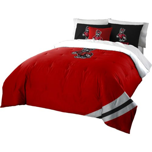The Northwest Company North Carolina State University Full Comforter and Sham Set