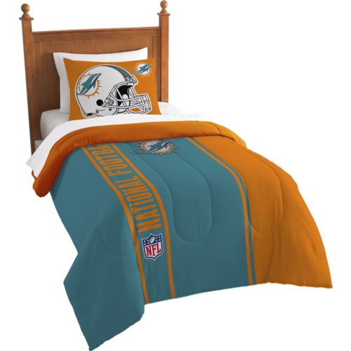 The Northwest Company Miami Dolphins Twin Comforter and Sham Set - view number 1