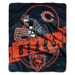 The Northwest Company Chicago Bears Grandstand Raschel Throw