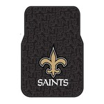 The Northwest Company New Orleans Saints Front Car Floor Mats 2-Pack - view number 1