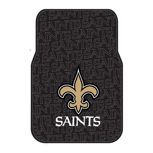 The Northwest Company New Orleans Saints Front Car Floor Mats 2-Pack