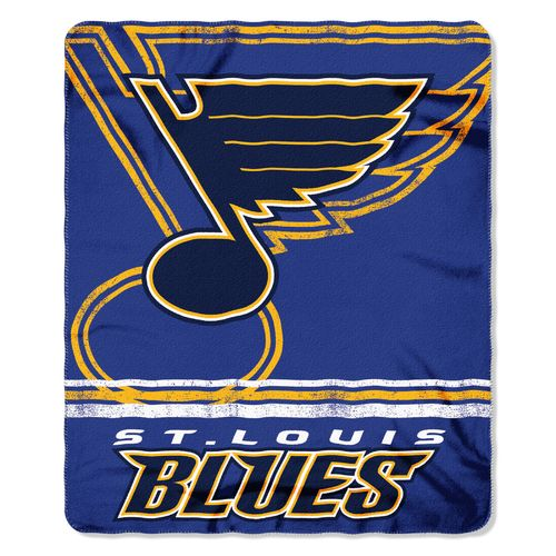 The Northwest Company St. Louis Blues Fade Away Fleece Throw - view number 1