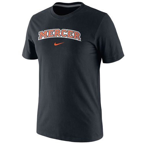 Nike™ Men's Mercer University Cotton Short Sleeve T-shirt