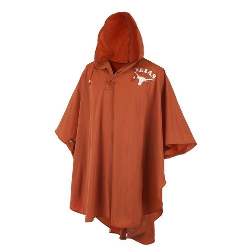 Storm Duds Men's University of Texas Slicker Heavy Duty PVC Poncho