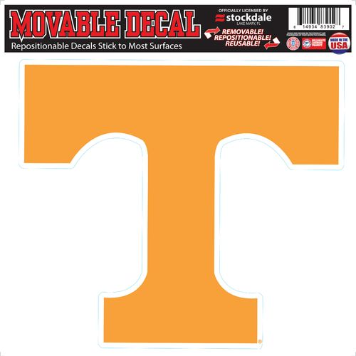 Stockdale University of Tennessee Single Logo Decal
