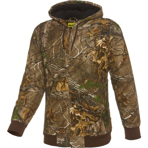 Brazos Men's Engineer Printed Hooded Jacket