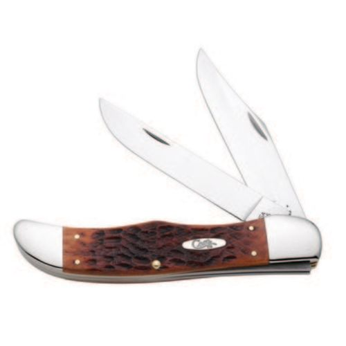 Case® Cutlery Smooth Chestnut Bone Folding Hunter Knife - view number 1