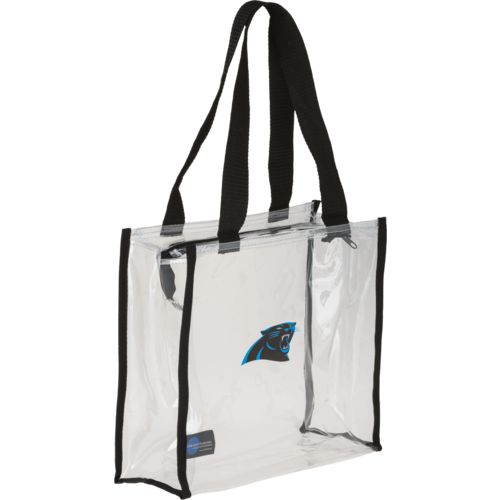Little Earth Productions Carolina Panthers Zip Tote