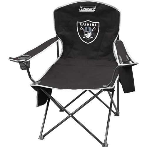 Coleman® Oakland Raiders Cooler Quad Chair
