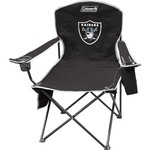 Coleman® Oakland Raiders Cooler Quad Chair - view number 1