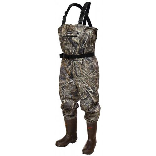 frogg toggs® Hellbender Realtree Max-5® 1,200-Gram Cleated Boot-Foot Wader