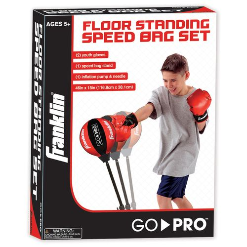 Franklin Youth MMA Floor Standing Speed Bag - view number 1