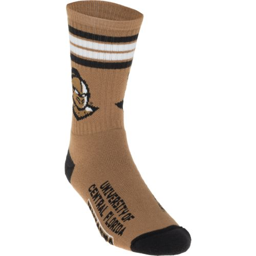 For Bare Feet Adults' University of Central Florida 4-Stripe Deuce Socks - view number 1
