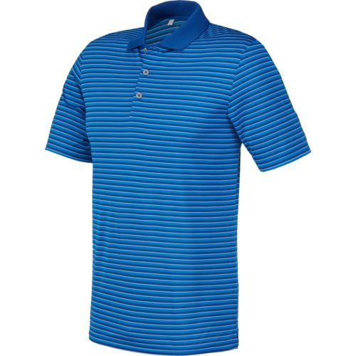 adidas™ Men's 3 Color Striped Polo Shirt