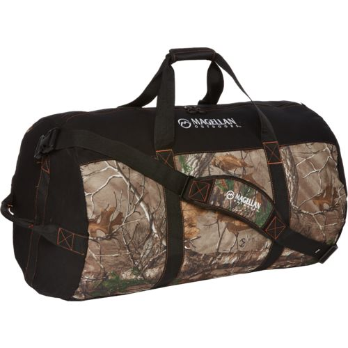 Magellan Outdoors 30 in Cotton Canvas Barrel Duffel Bag