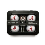 Team Golf University of Alabama 4-Ball Tin Gift Set