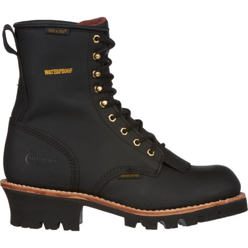 Chippewa Boots Waterproof Insulated Logger Rugged Outdoor Boots