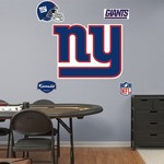 Fathead New York Giants Real Big Team Logo Decal