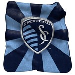 Logo™ Sporting Kansas City Raschel Throw - view number 1