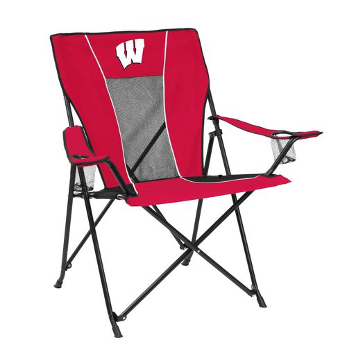 Logo™ University of Wisconsin Game Time Chair
