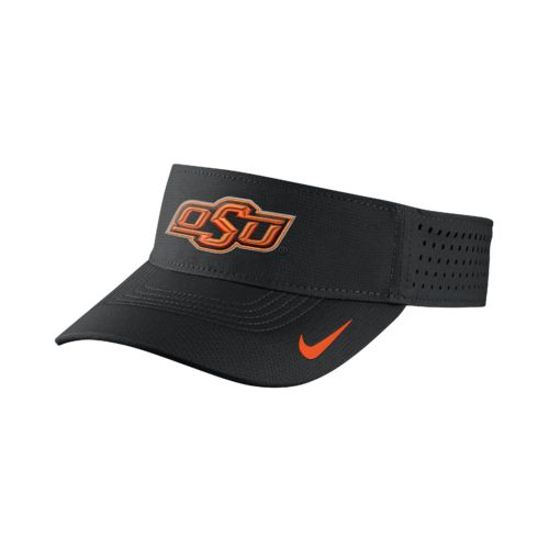 Nike™ Men's Oklahoma State University Vapor Adjustable Visor - view number 1