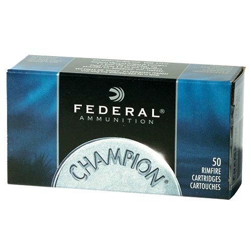 Display product reviews for Federal Premium Champion Target .22 WMR 40-Grain FMJ Rimfire Ammunition